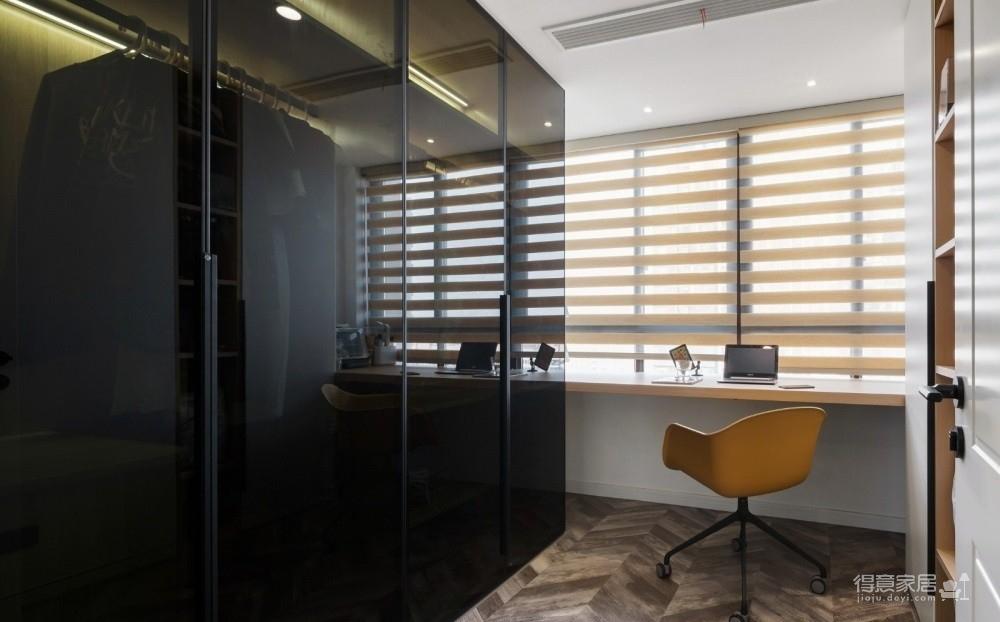清能清江锦城80平二室二厅简约风格装饰效果图