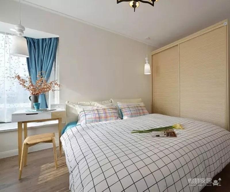 【混搭】100平三室两厅混搭美式新居图_3
