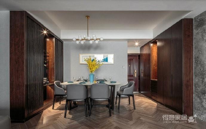 120平现代轻奢风家居设计