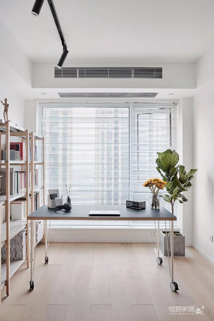 89㎡常规小户型装修设计,打破传统设计的北欧风格家居