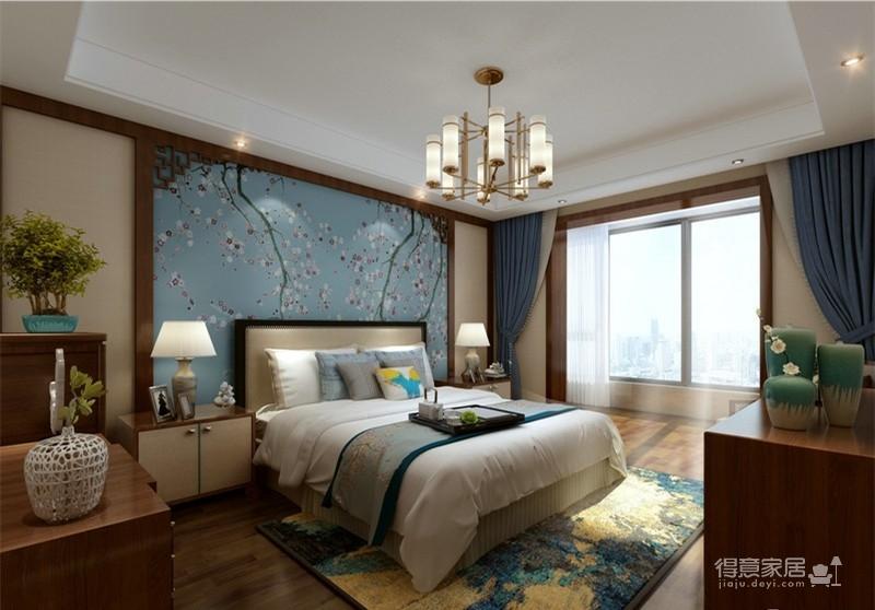 140平新中式 四居室