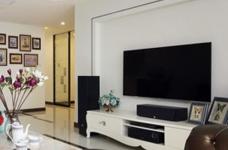 【新古典】140平三室两厅新古典风格图_2