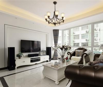 【新古典】140平三室两厅新古典风格