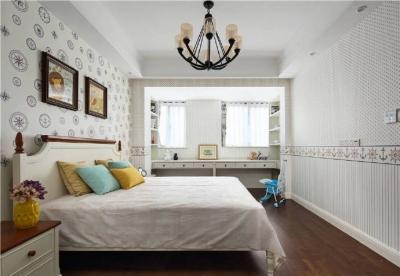 108㎡现代美式风格三居室