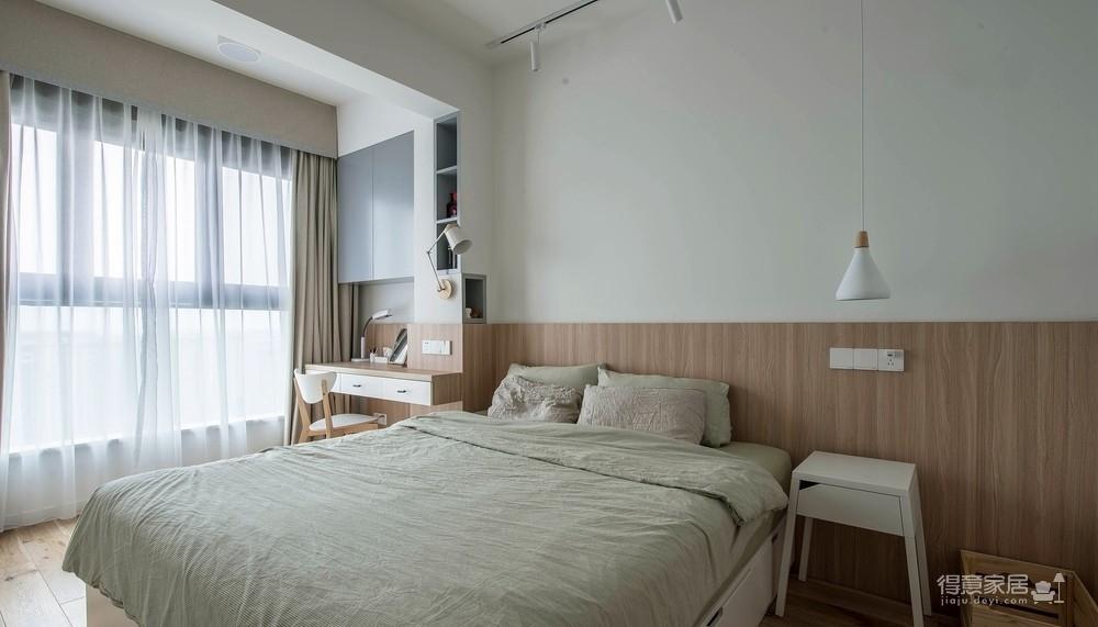 盛景天地美寓85平二室二厅日式风格装饰效果图图_2