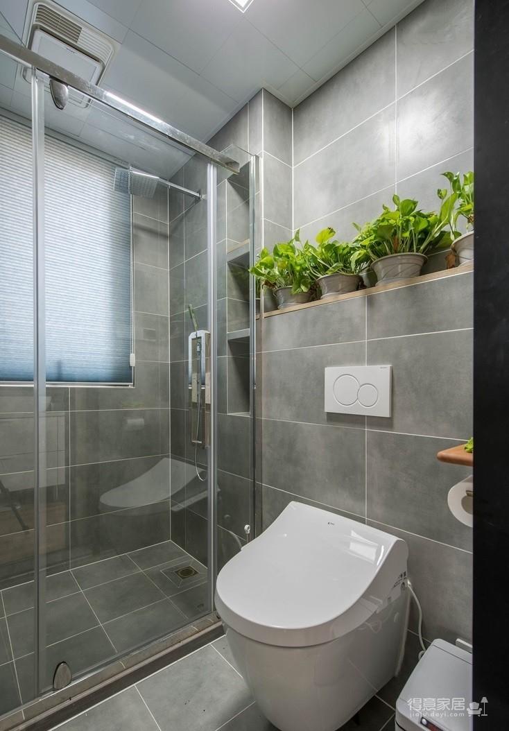 盛景天地美寓85平二室二厅日式风格装饰效果图
