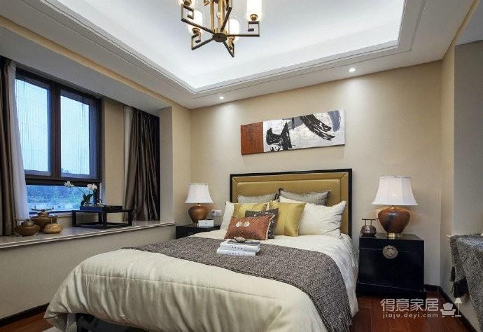 140平现代中式风四居室