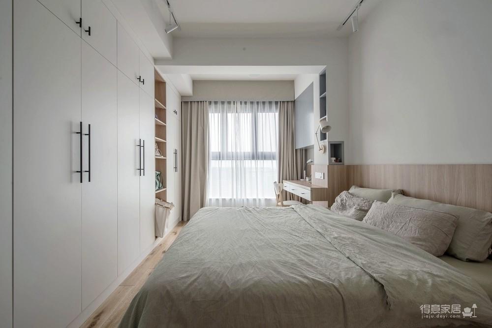 盛景天地美寓85平二室二厅日式风格装饰效果图图_3