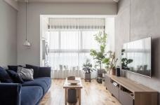 盛景天地美寓85平二室二厅日式风格装饰效果图图_1