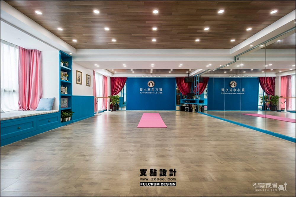 舞蹈工作室——133平现代