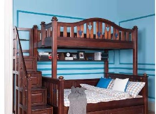 21款1.2米挂梯床