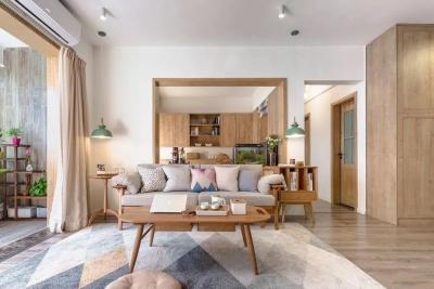 北欧混日式3室2厅 榻榻米还能这样设计!