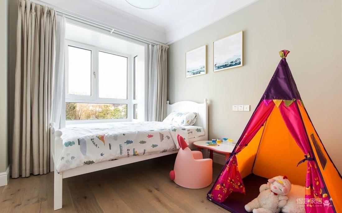 四新凤凰小城141平四室两厅北欧风装饰效果图