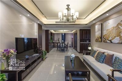 广电兰亭时代中式140平三室两厅