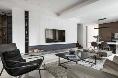 宁静、沉稳的家居设计