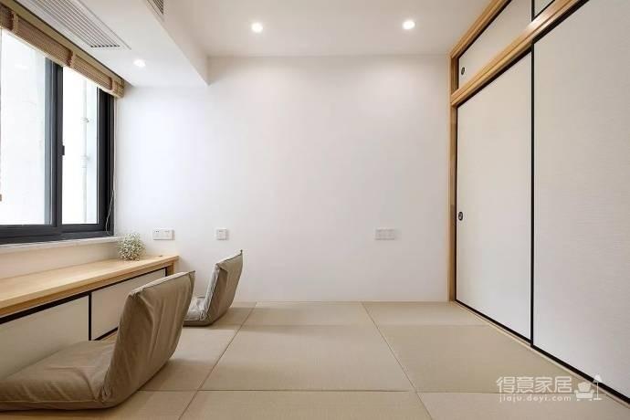 自然宁静 原木日式三居室