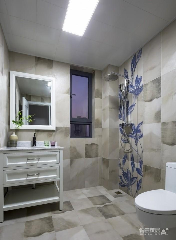 世茂龙湾145平五室两厅混搭风格装饰效果图