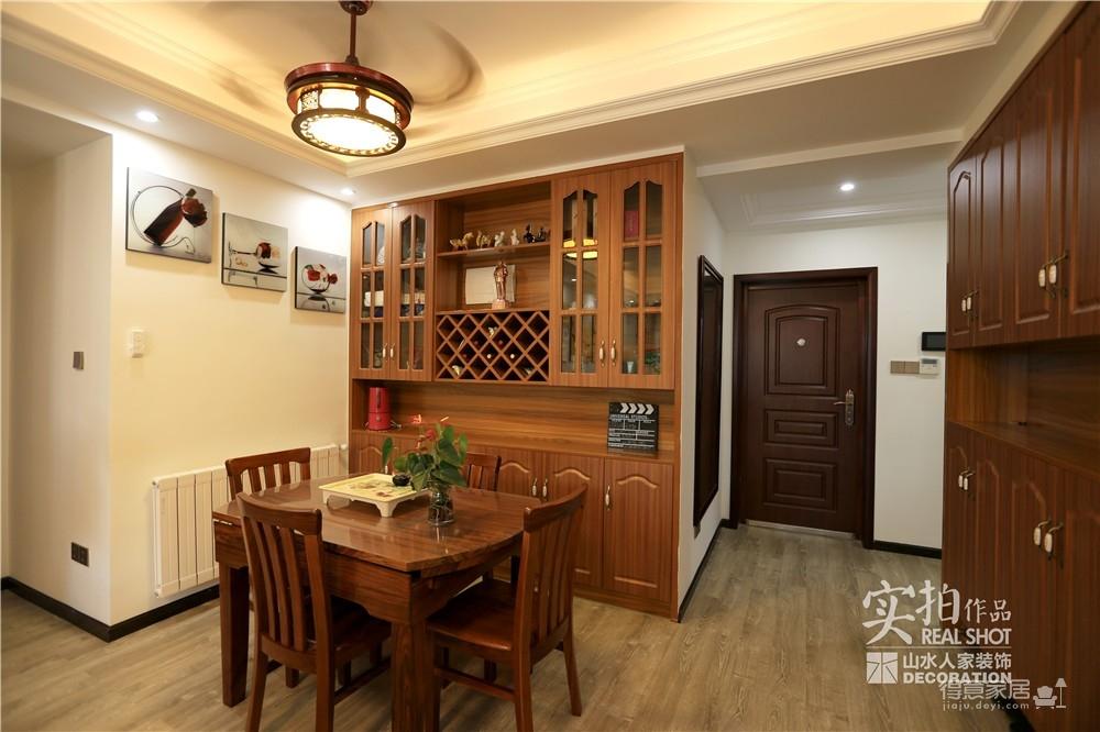 江南新天地130平三室两厅新中式风图_11
