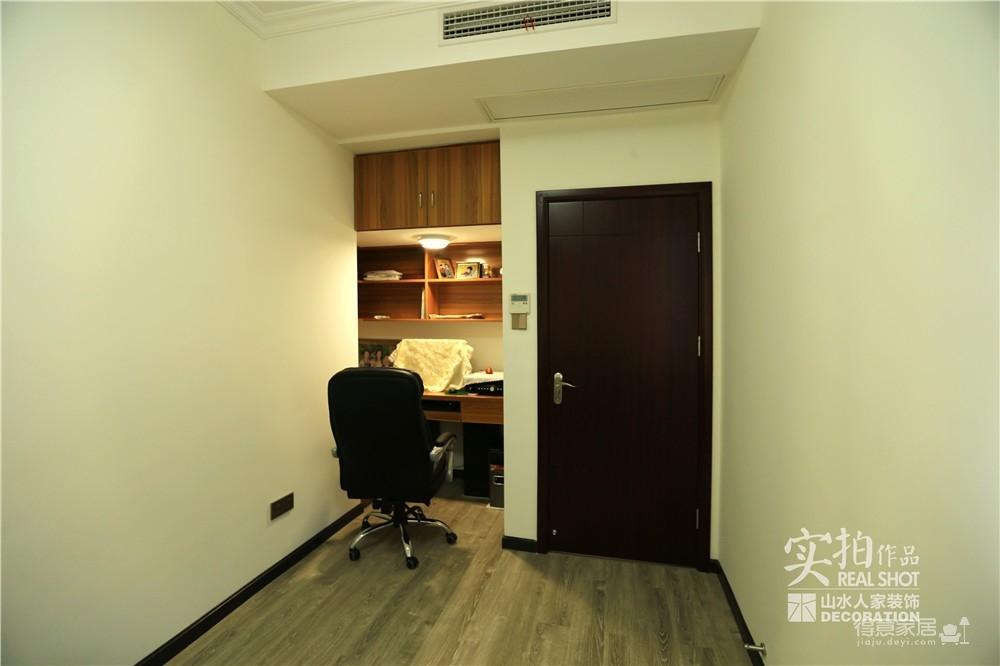 江南新天地130平三室两厅新中式风图_16