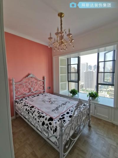 广电兰亭时代112平三室现代轻奢风格装饰效果图