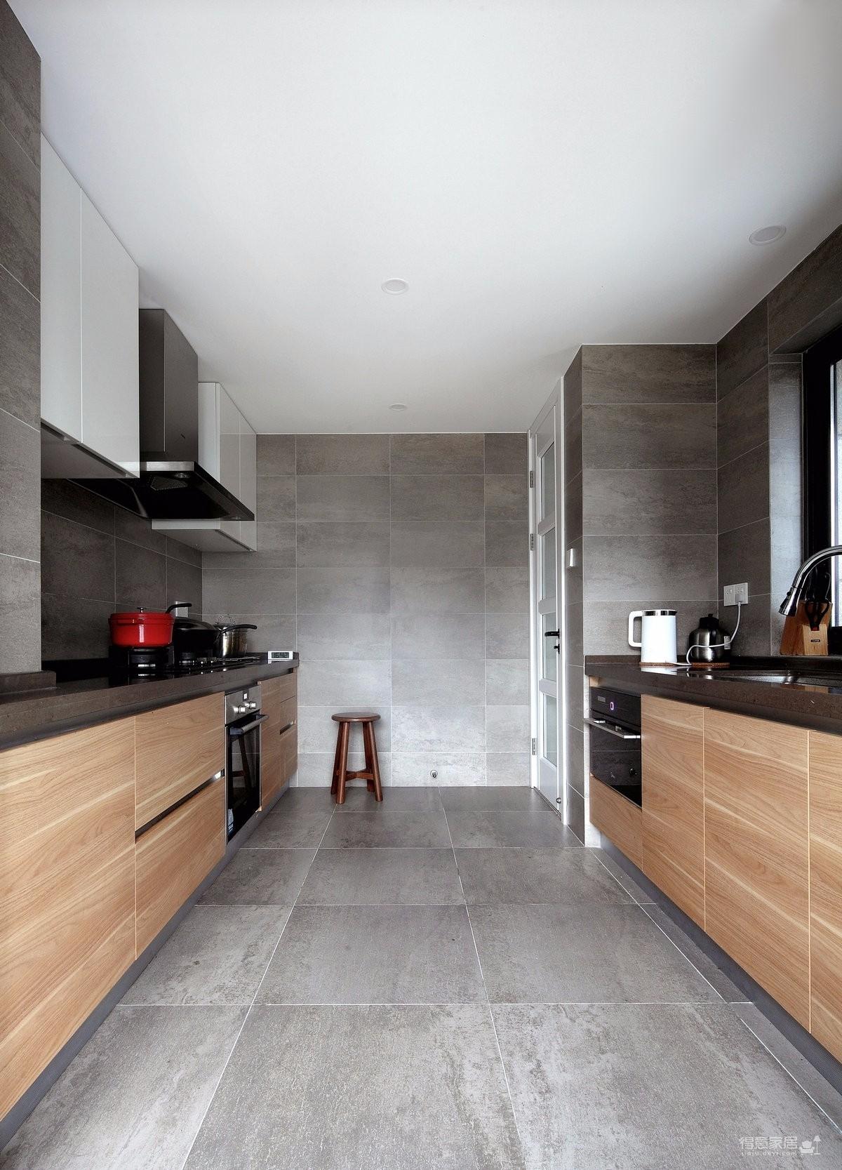 三居室现代美式风格精选案例