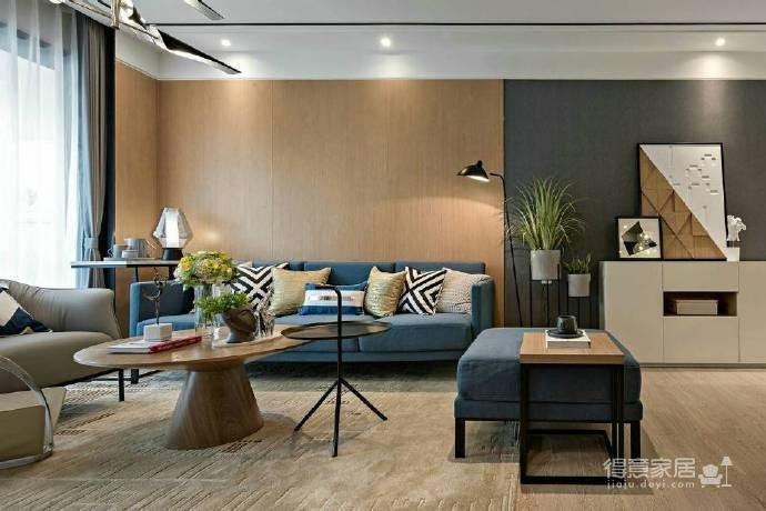 88㎡现代简约风格二居室装修设计图_3