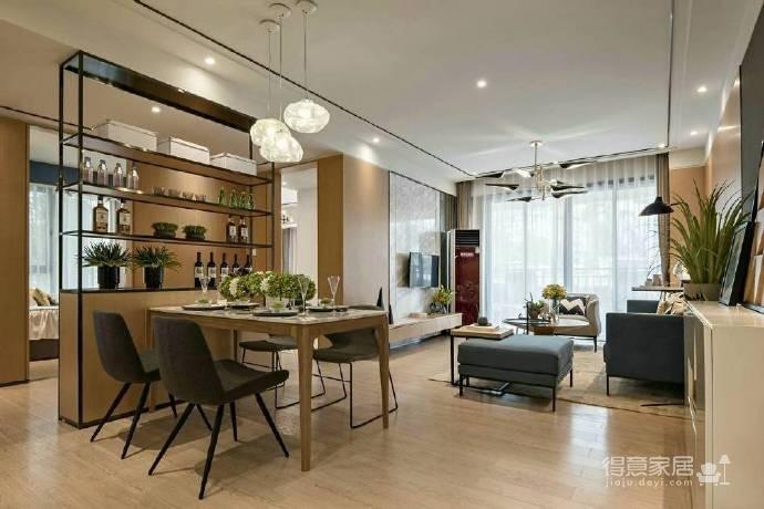 88㎡现代简约风格二居室装修设计图_5
