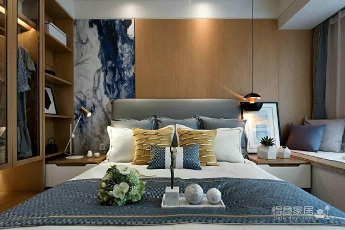 88㎡现代简约风格二居室装修设计图_4