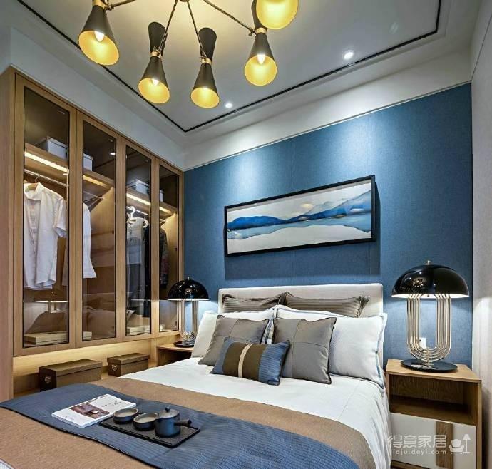 88㎡现代简约风格二居室装修设计图_2