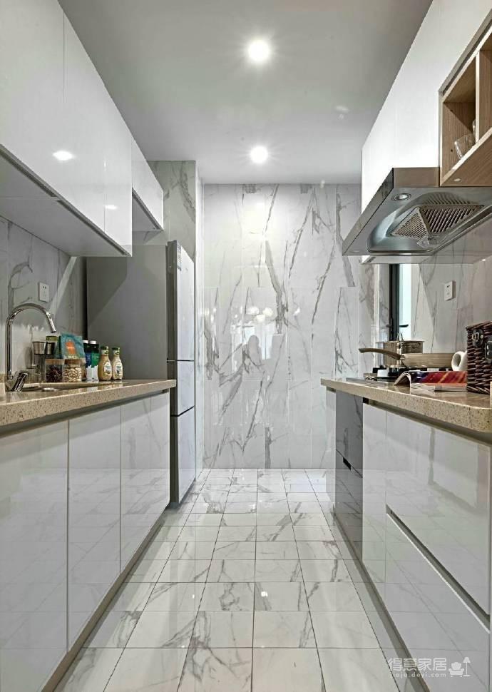 88㎡现代简约风格二居室装修设计图_7