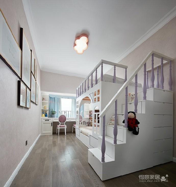 轻奢混搭三居室设计图_9