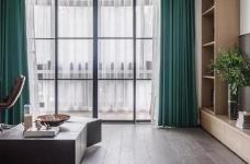 110m²混搭风三口之家,卡座餐厅实用又美观图_7