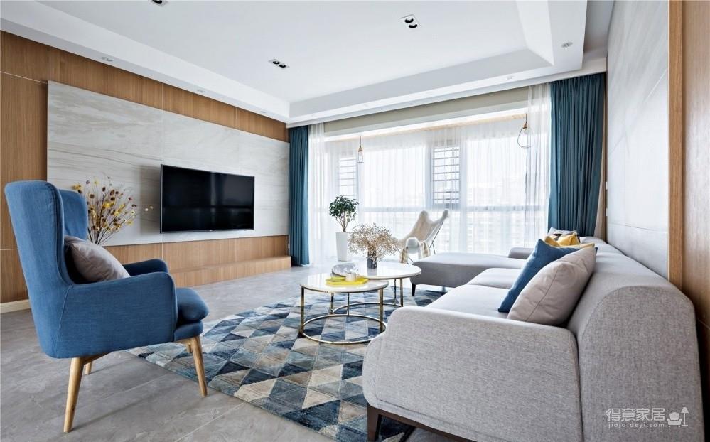 联泰香域水岸198平四室两厅简欧装饰效果图