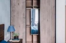 110m²混搭风三口之家,卡座餐厅实用又美观图_3