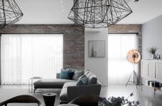 现代风格三居室案例鉴赏图_1