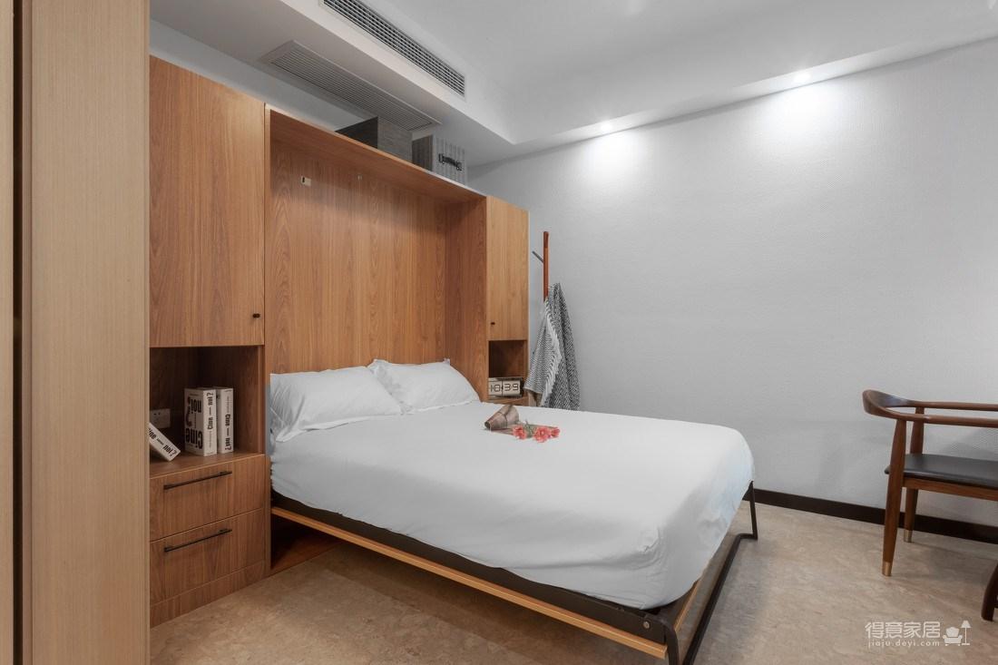 万福国际广场98平三室两厅现代简约风格装饰效果图图_6