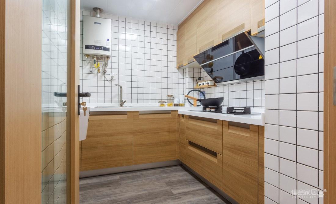 万福国际广场98平三室两厅现代简约风格装饰效果图图_8