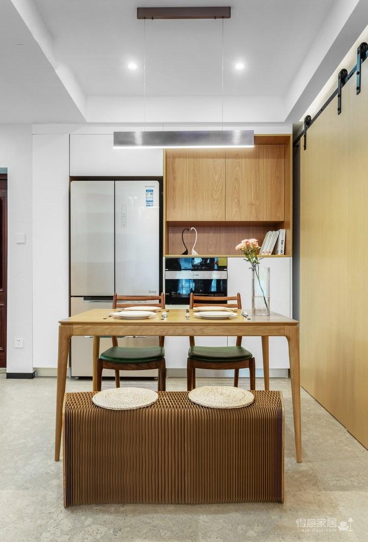 万福国际广场98平三室两厅现代简约风格装饰效果图图_7