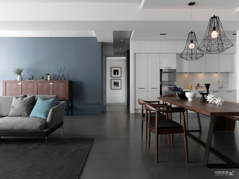 现代风格三居室案例鉴赏图_4