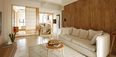 102㎡治愈系日式三居室,小日子就该过得简单又温暖。 