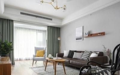 110m²北欧风三居室