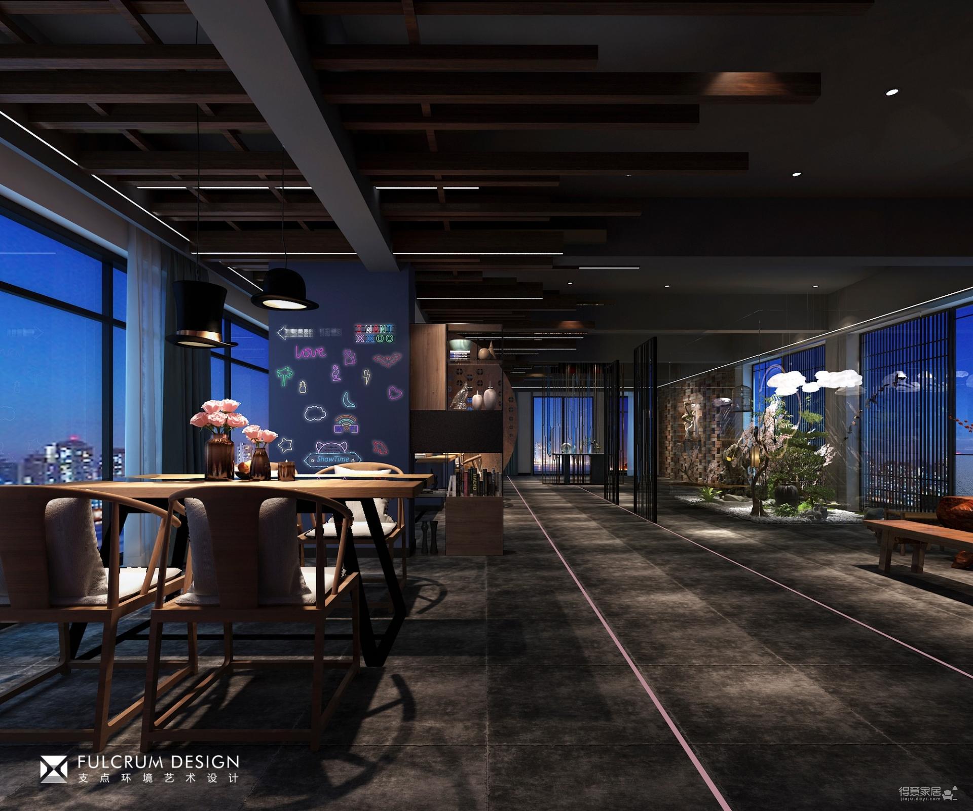 沿江大道-码头餐厅——125平混搭风