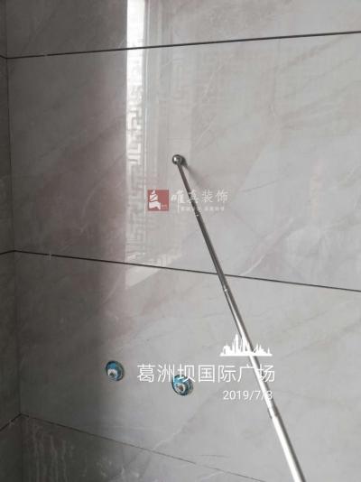 葛洲坝国际广场  砌砖阶段