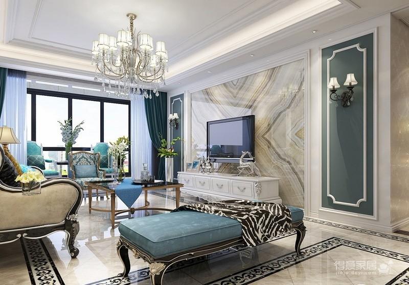 135平新古典四居室风格