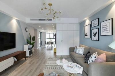 清新北欧风格家居装修设计