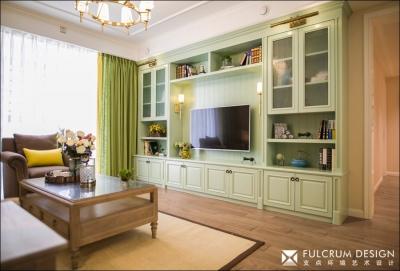 春光—绿地名邸公馆—170平现代美式