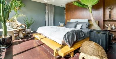 植物就是最好的装饰品!顶楼老公寓的秘密花园!