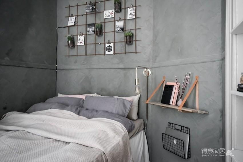 高级灰北欧风!瑞典11坪优雅单身女子公寓