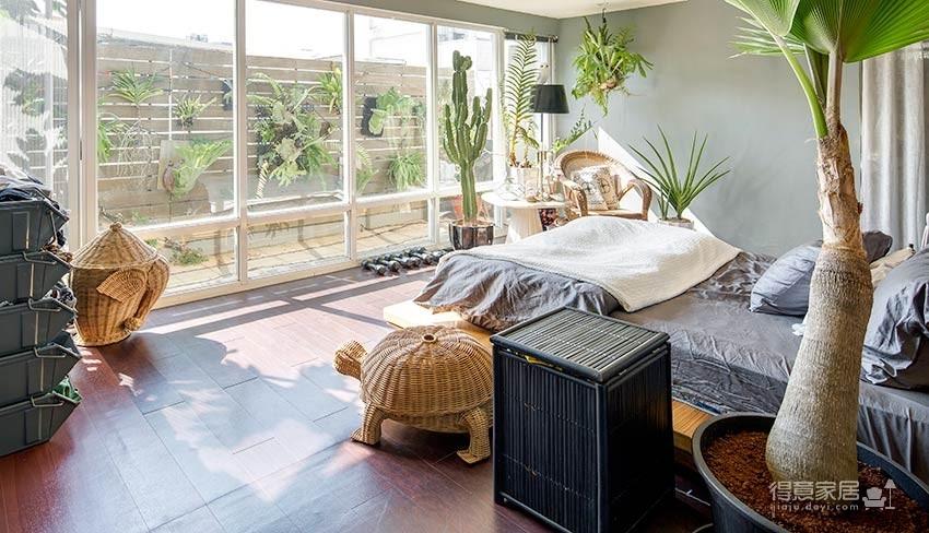 植物就是最好的装饰品!顶楼老公寓的秘密花园!图_9