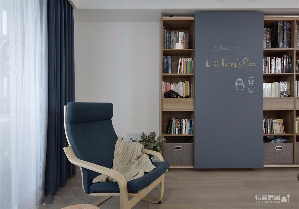 72平米小两室现代简约风精选案例